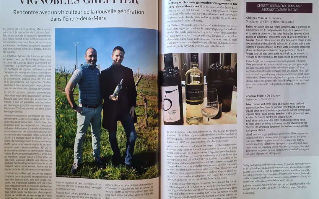 Sommeliers International n°168 – Wine Tour Raimonds Tomson